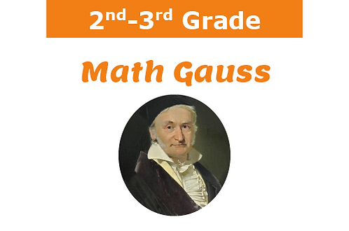Math Gauss (1 hr/12 wks)