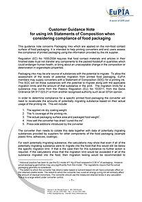 EuPIA 2012-07-01_Customer_Guidance_Note_
