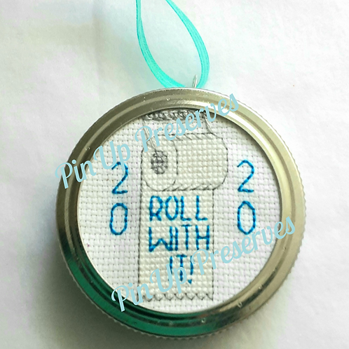 Roll With It! 2020 Toilet Paper Roll Ornament