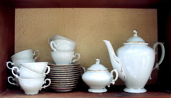 Service à café/thé porcelaine