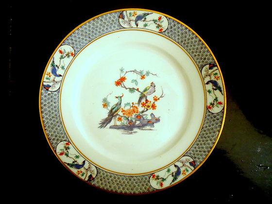 LIMOGES - Assiette porcelaine Theodore Haviland
