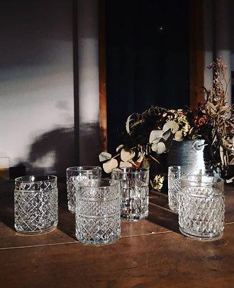 Lot 6 verres dépareillées