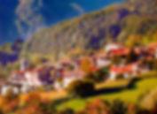 Panificio Riccadonna Rango Trentino, vista da lontano