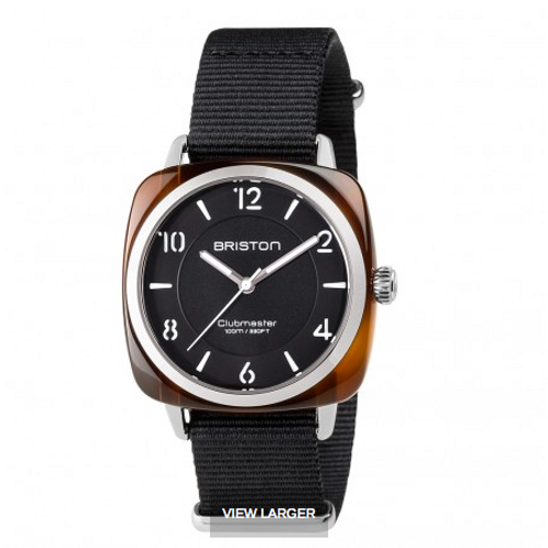 Clubmaster Chic Acetate - HMS tortoise shell black dial
