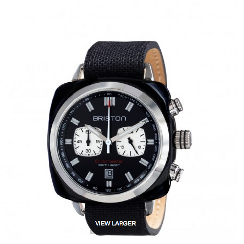 Clubmaster Sport Acetate - Chronograph black with black dial