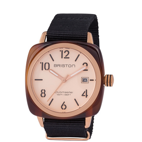 Clubmaster Classic Acetate - HMS Gold Rose gold dial