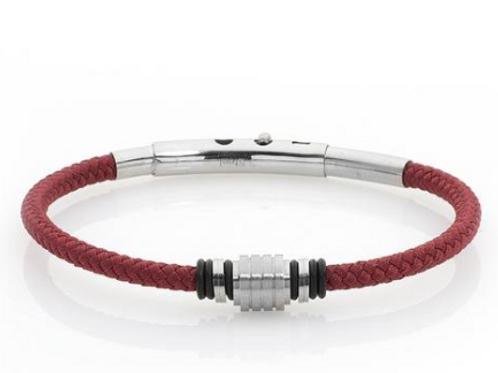 Bracelet in codline red marina