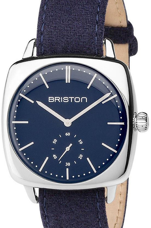 SMALL SECOND,POLISHED STEEL, MATT NAVY BLUE DIAL AND NAVY BLUE NATO STRAP