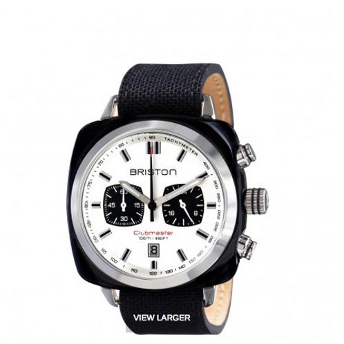 Clubmaster Sport Acetate - Chronograph black white dial
