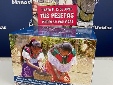 """""""Tus pesetas pueden salvar vidas"""", un ejemplo de captación de fondos original"""