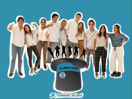 #TuRetoAzul: La meta solidaria de diez jóvenes sevillanos
