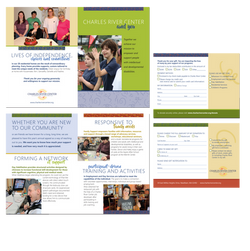 brochure and reply card