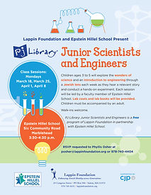 Junior Scientists and Engineers Flyer Sp