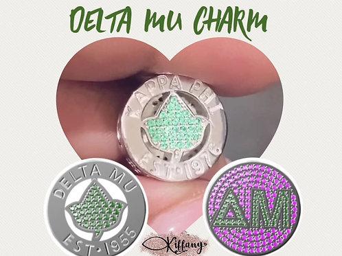Delta Mu Chapter Charm