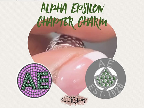 Alpha Epsilon Chapter Charm