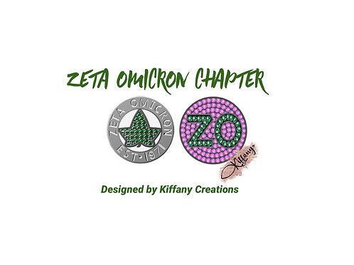 Zeta Omicron Chapter Charm (PRE-ORDER)