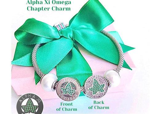 PRE-ORDER: Alpha Xi Omega Chapter Charm