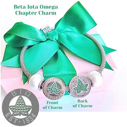 Beta Iota Omega Chapter Charm (PRE-ORDER)
