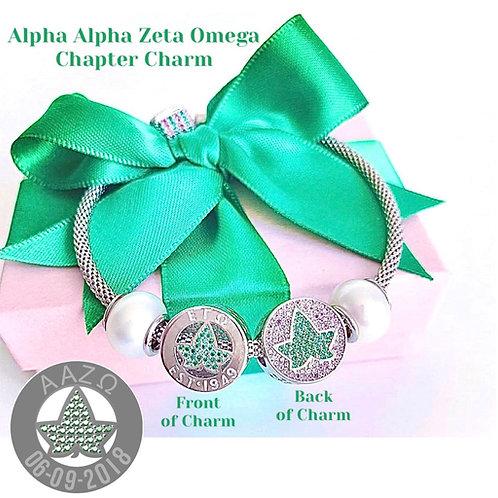 Alpha Alpha Zeta Omega Chapter Charm