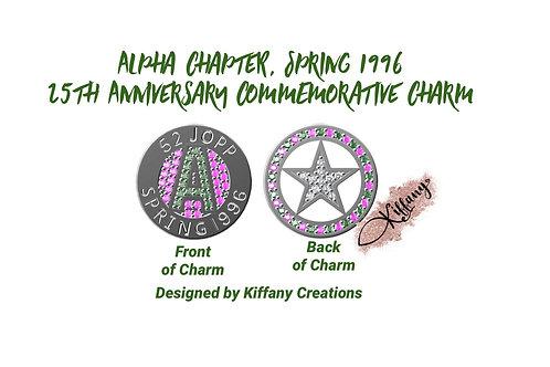 PRE-ORDER: 25th Anniversary Commemorative Signature Charm Necklace