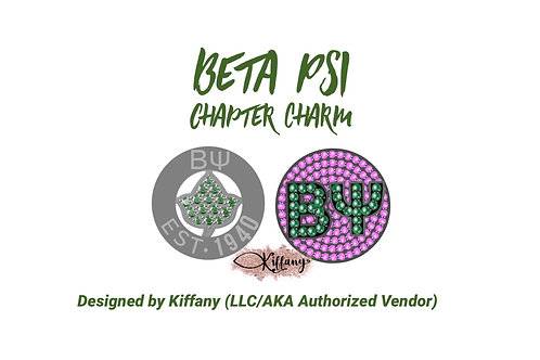 PRE-ORDER: Beta Psi Chapter Charm