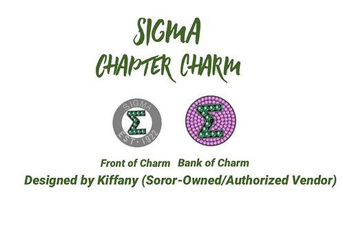 Sigma Chapter Charm