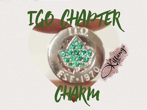 Iota Gamma Omega Chapter Charm