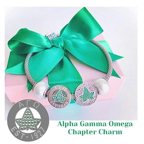 Alpha Gamma Omega Chapter Charm