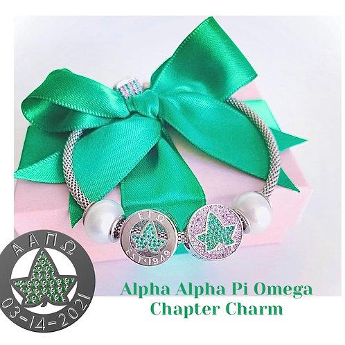 PRE-ORDER: Alpha Alpha Pi Omega Chapter Charm
