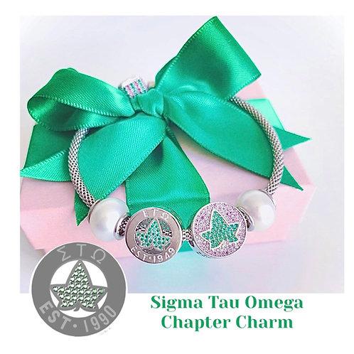 PRE-ORDER: Sigma Tau Omega Chapter Charm
