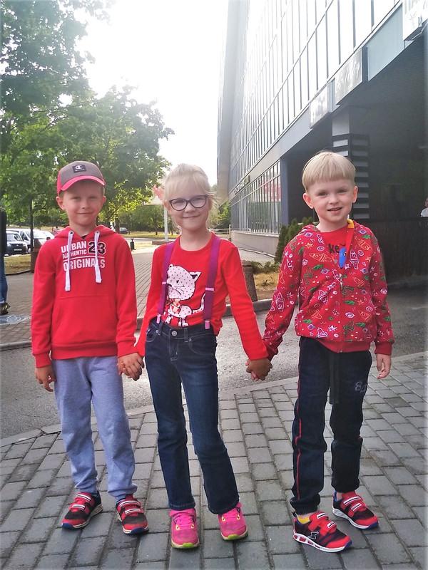 Младшая группа, выпуск первого года
