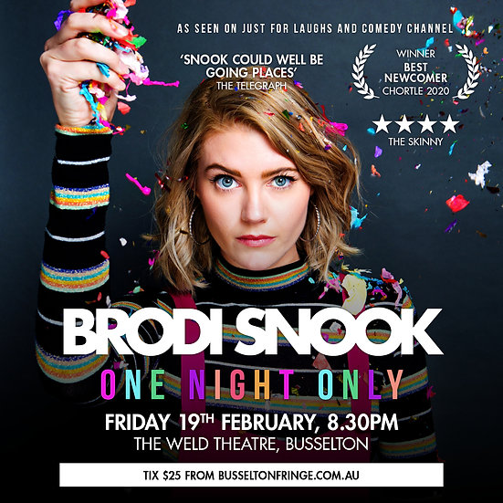 Brodi Snook - One Night Only