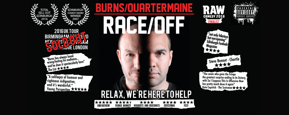 Race Off - Craig Quartermaine and Brendon Burns