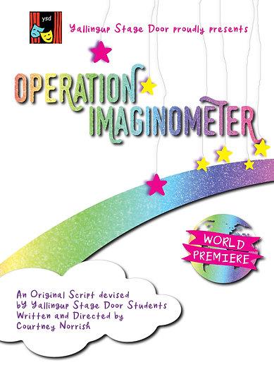 Operation Imaginometer – Yallingup Stage Door Academy