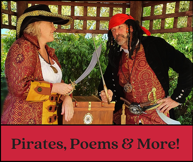 Pirates, Poems and More !