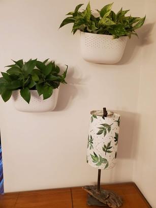 RPS Lantern with leaf print