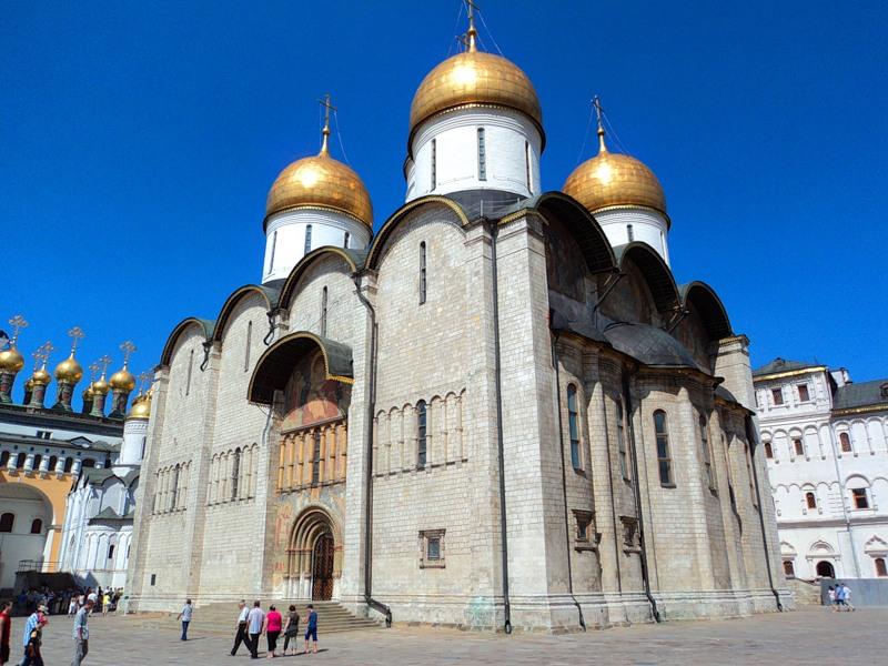 Московский Кремль Церковь Ризоположения