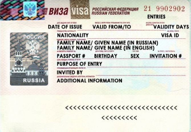 Russian Visa Step-by-Step
