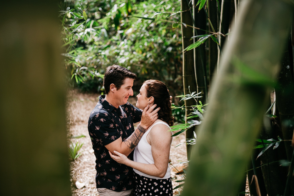 Romantic Couples Photography Shoot in the Rainforest