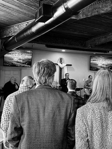Worship service CBC Sky Valley GA