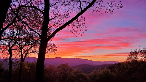 Sunset picture Sky Valley, Georgia