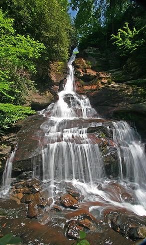 Waterfall Sky Valley, Georgia