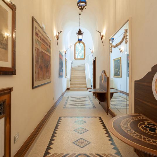 Villa Rondinaia (36) Corridor Ground flo