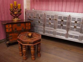 Важность резных декоративных элементов для интерьера в русском стиле.