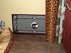 декоративная накладка на решетку