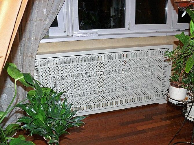 декоративная накладка на радиатор