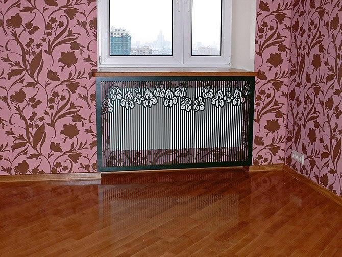 декоративные экраны на радиаторы ото