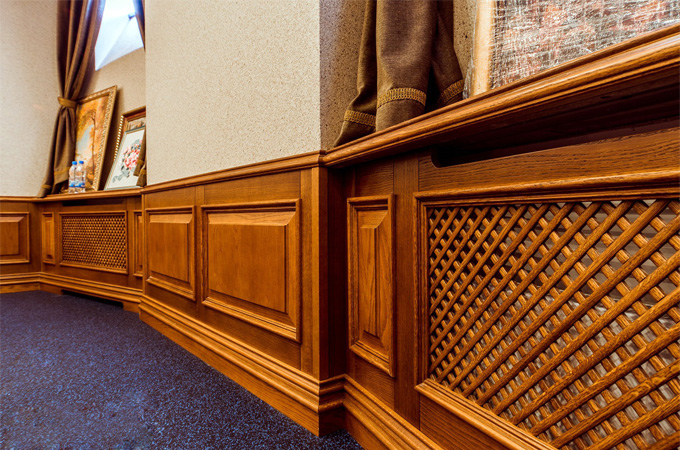 деревянные накладки для радиаторов