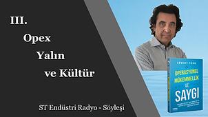 Operasyonel Mükemmellik, Yalın ve Kültür - Levent Türk