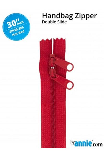 ByAnnie – 30 inch Zipper Hot Red
